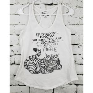 Disney Alice in Wonderland Logo Tank Top